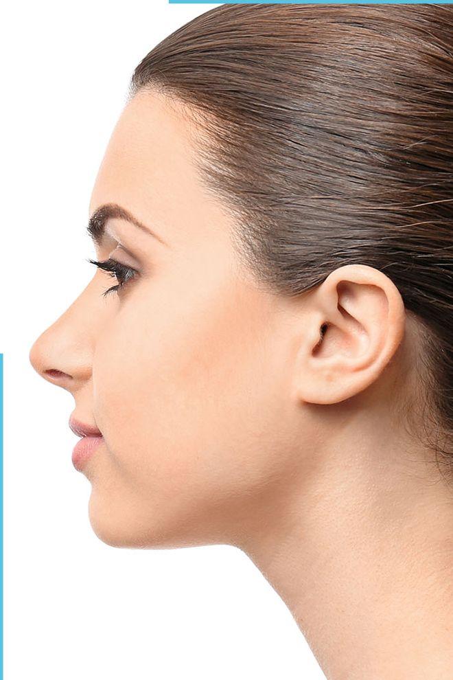 Nose massage after rhinoplasty