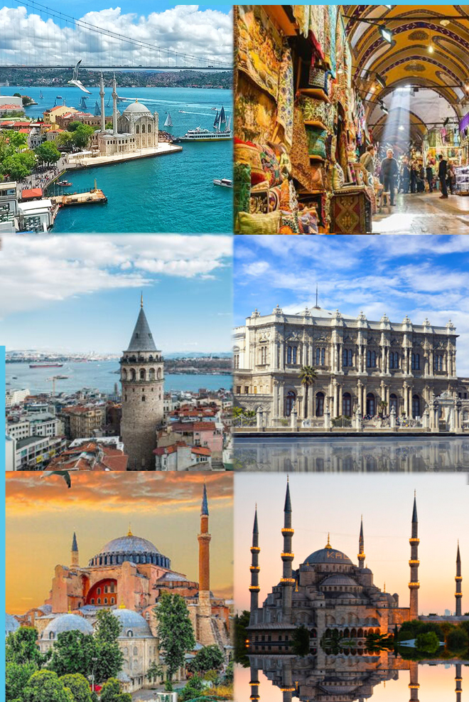 Places to visit in istanbul after rhinoplasty